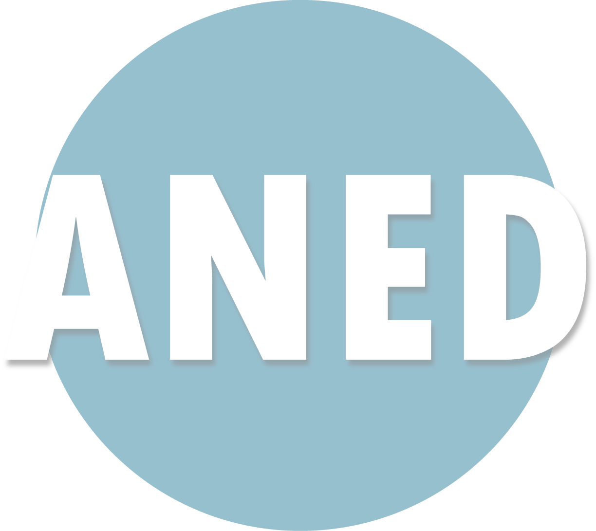 The ANED logo